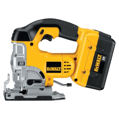 DEWALT DC308K 36-Volt Lithium Ion Cordless Jig Saw Kit with NANO Technology