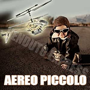 874102 AEREO PICCOLO TELECOMANDATO ELICOTTERO HELICOPTER MODEL
