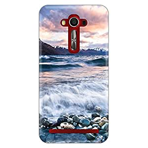 Mozine Valley Of Peace printed mobile back cover for Asus zenphone 2 laser