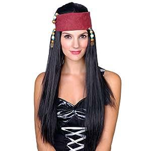 freibeuter piraten sch nheit halloween karneval accessoire per cke f r frauen spielzeug. Black Bedroom Furniture Sets. Home Design Ideas