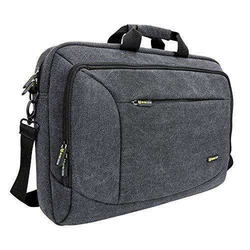 17 - 17.3 Laptop Messenger Bag, Evecase 17.3