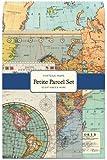 Cavallini Vintage Maps Petite Parcel Set