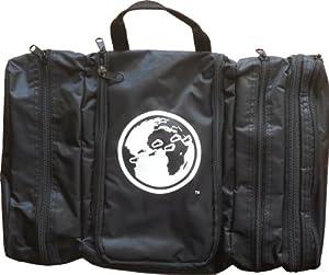 Davidsbeenhere Hanging Travel Toiletry Cosmetics Bag Kit, Black