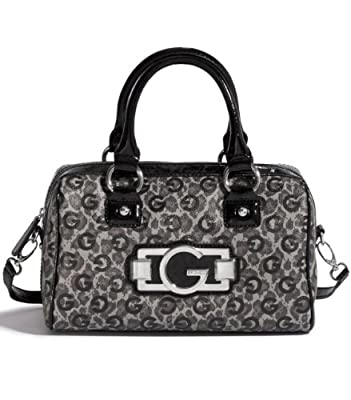 G By Guess Felice Logo Box Satchel With Strap by GByGUESS