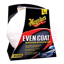 "Meguiar's X3080 5"" EvenCoat Applicator Pads, (Pack of 2)"