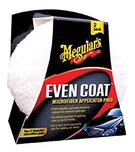 "Meguiar's X3080 EvenCoat 5"" Applicator Pads - (Pack of 2)"