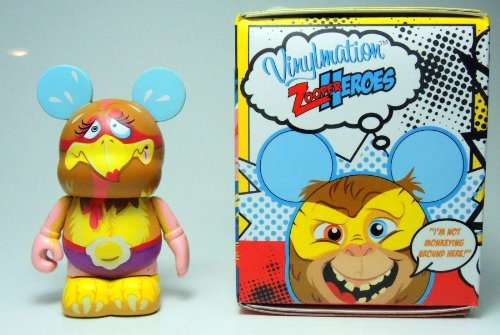 Vinylmation Zooper Heroes 3 inch Figure Chicken - 1