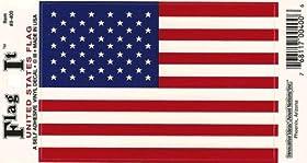 United States Heavy Duty Vinyl Bumper Sticker (3 x 5 Inches)