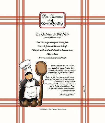 Torchon Mam Goudig recette La Galette de Blé Noir