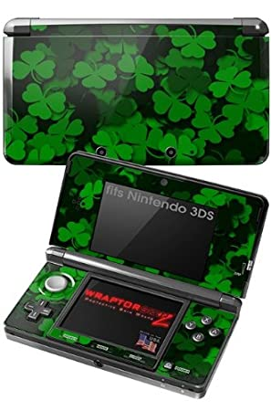 Nintendo 3DS Skin - St Patricks Clover Confetti