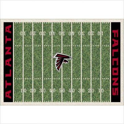 NFL Homefield Atlanta Falcons Football Rug Size: 5'4