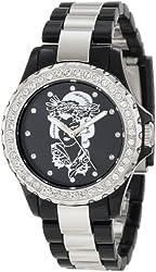 Ed Hardy Women's VX-BK Vixen Black Watch