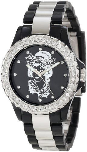 Ed Hardy Women's VX-BK Vixen Black Watch