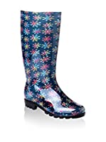 FOX LONDON Botas de agua FX0277 (Azul Marino / Multicolor)