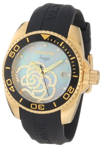 Invicta Women's 0489 Angel Collection Cubic Zirconia