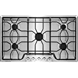 """Frigidaire 36"""" Stainless Steel Gas Cooktop"""