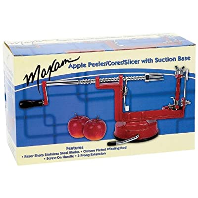 Maxam Corer, Peeler,Slicer With Base