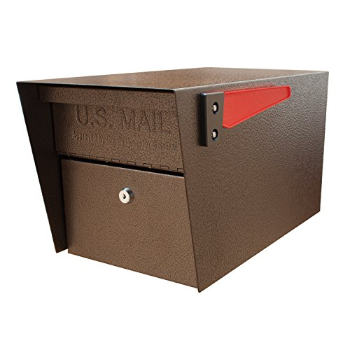 mail-boss-7508-curbside-mail-manager-locking-security-mailbox-bronze
