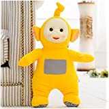 1Pcs 36cm Stuffed Dolls Teletubbies Vivid Dolls High Quality Plush Toys Gift For Children (Yellow)