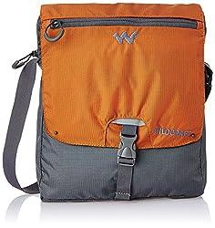 Wildcraft Nylon 15 ltrs Orange Messenger Bag (8903338055983)