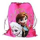 Officially Licensed Disney Drawstring Bag - Elsa and Anna