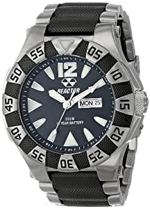 REACTOR Men's 53501 Gamma Two-Tone Stainless Steel Watch with Link Bracelet