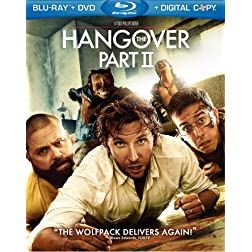 The Hangover Part II (Blu-ray/DVD Combo + UltraViolet Digital Copy)