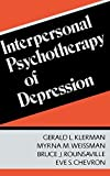 img - for Interpersonal Psychotherapy Of Depression by Gerald L. Klerman (1984-07-18) book / textbook / text book