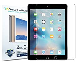 Tech Armor HD Clear Screen Protector for Apple iPad Air 2 / iPad Air (first generation) (Pack of 2)