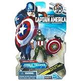 Captain America Movie 4 Inch Series 3 Action Figure #13 Jungle Trooper Captain America