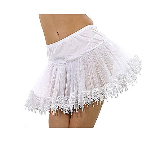 Mid-Length Teardrop Lace Petticoat Costume Accessory - One Size - Dress Size 6-12
