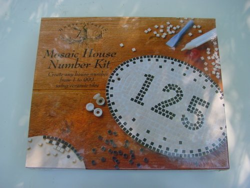 House of Crafts Mosaic House Number Kit