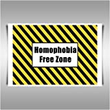 FREE ZONE GAY INTEREST A1 CANVAS ART PRINT POSTER