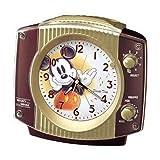 セイコークロック Disney (ディズニータイム) 目覚し時計 ミッキー&フレンズ FD547B