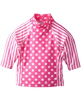Flap Happy Baby Girls' Print Combo Rashguard Top