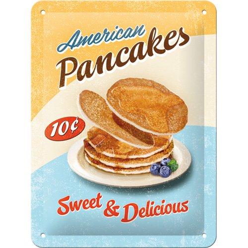 Plaque en metal - American Pancake