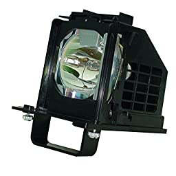 Mitsubishi WD-60738 DLP TV Assembly with High Quality Original Bulb Inside
