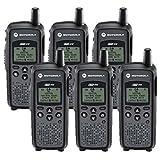 6 Pack of Motorola DTR410 Two way Radio Walkie Talkies (Tamaño: 6 Pack)