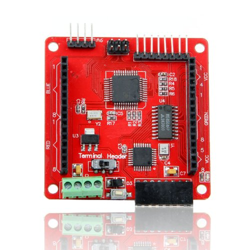 V2.0 Driver Shield For Led Matrix 8X8 -Triple Color Rgb Display-Arduino Compatible