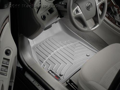WeatherTech Custom Fit Front FloorLiner for Honda Odyssey, Gray (Weathertech 2012 Honda Odyssey compare prices)