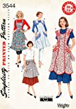 Simplicity Sewing Pattern 3544 Aprons, A (Small - Medium - Large)