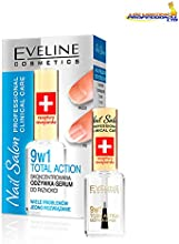 Eveline Cosmetics Nail Salon Total Action - Acondicionador 9 en 1 para uñas, 12 ml