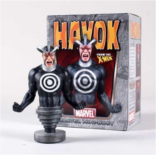 Havok Mini-Bust by Bowen Designs (Marvel Bowen compare prices)