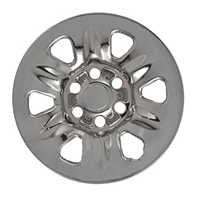 "Bully Imposter IMP-60X, Nissan, 17"" Chrome Replica Wheel Cover, (Set of 4)"