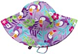 i play Little Girls Brim Sun Hat (Baby/Toddler) - Lavender - Toddler(2-4 Yrs)
