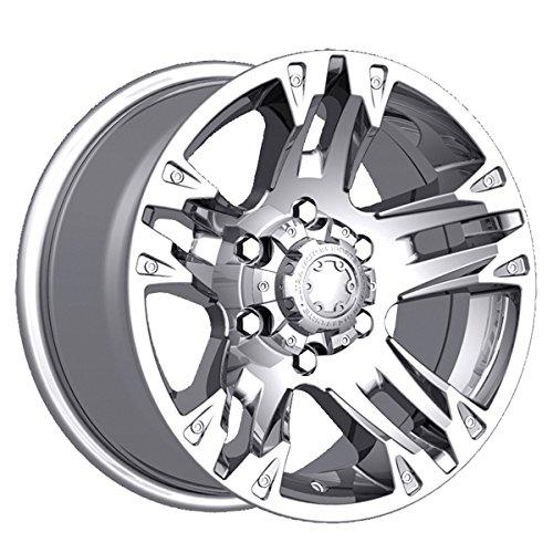 Ultra 235C Maverick 17x8 6x139.7 +10mm Chrome Wheel Rim (2015 Chevy Silverado Rims compare prices)