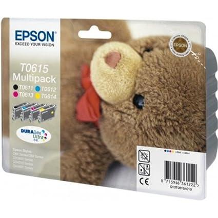 Epson C13T06154010 Cartouche d'encre MultiPack pour Epson Stylus D 68