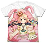 アイドルマスター シンデレラガールズ ぐうたら王国 双葉杏 フルグラフィックTシャツ ホワイト Lサイズ