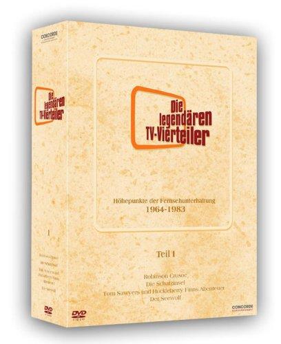 Die legendären TV-Vierteiler - Box 1 (8 DVDs)