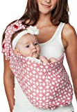 Hotslings Adjustable Pouch Baby Sling, Barely Square, Regular Color: Barely Square Size: Regular Infant, Baby, Child
